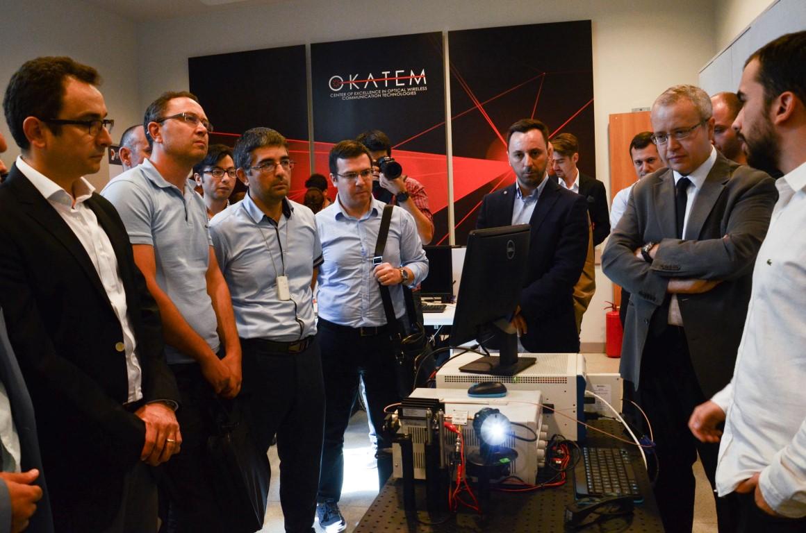 Türkiye'nin İlk Optik Kablosuz Haberleşme Ar-Ge Merkezi Özyeğin Üniversitesi'nde Açıldı