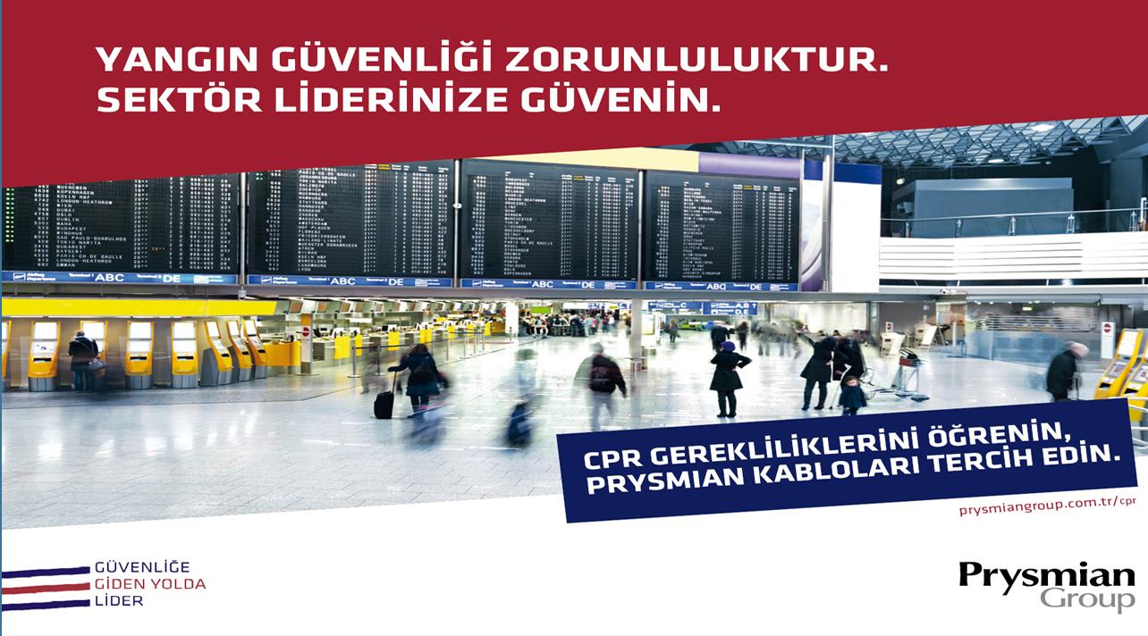 Prysmian, Türk Kablo Sektöründe  CPR Sertifikasını Alan İlk Şirket Oldu