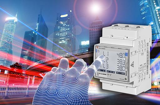 Carlo Gavazzi EM340 3 Fazlı Enerji Ölçer Dokunmatik Ekran Teknolojisini Kullanıyor