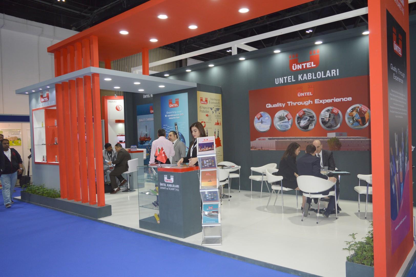 ÜNTEL KABLO Dubai Middle East Electricity Fuarında Yer Aldı.