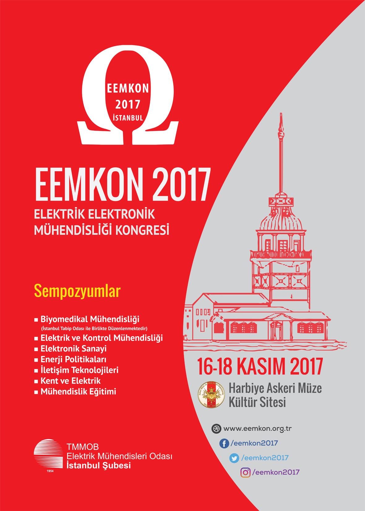 EEMKON 2017 KONGRESİ BAŞLIYOR