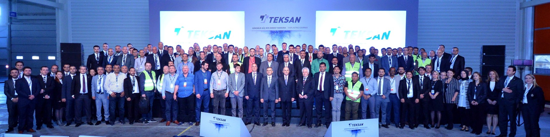 TEKSAN yeni fabrikasında  Yurtiçi ve Yurtdışından iş ortakları ile buluştu