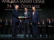 """ASTOR, """"CUMHURBAŞKANI'NDAN AR-GE ÖDÜLÜ"""" ALDI"""