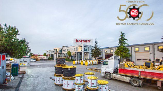 Borsan, İSO 500 sıralamasında yer aldı