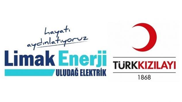Limak Enerji ve Kızılay İş Birliği