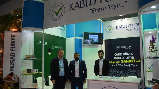 Kablo Türk Müsiad Expo 2018 fuarında yer aldı