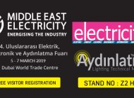 FREE VISITOR REGISTRATION Middle East Electricity 2019