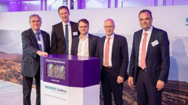 Siemens Gamesa Enerji Depolamada Bir İlki Gerçekleştirdi
