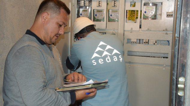 SEDAŞ Kaçak Elektrik Kullanımı ile Mücadeleye Devam Ediyor
