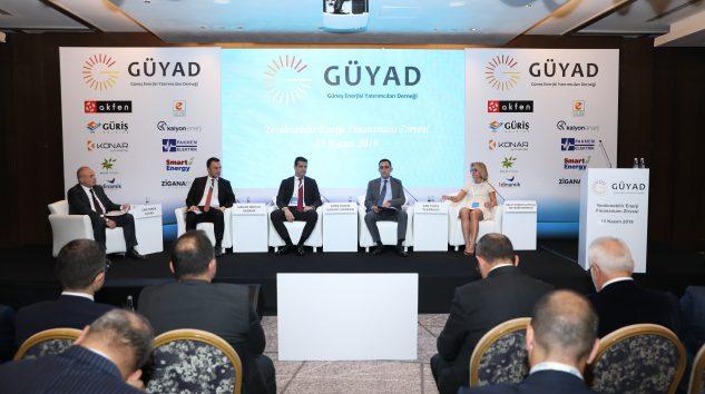 GÜYAD,Yenilenebilir Enerji Finansmanı Zirvesi'nde Sektörü Bir Araya Getirdi