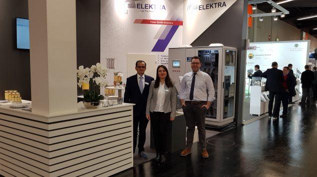 Elektra Elektronik SPS Fuarı'nda İleri Teknoloji Ürünlerini Sergiledi
