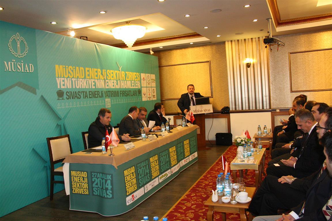 Sivas'taki Enerji Sektör Zirvesi'nde Yeni Enerji Hamleleri Konuşuldu
