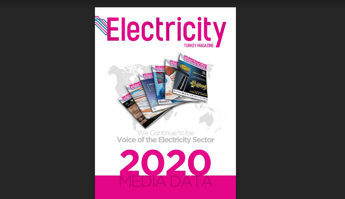 ELECTRICITY TURKEY DERGİSİ 2020 MEDIA KIT