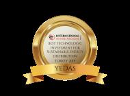 YEDAŞ'a En İyi Teknolojik Yatırım Ödülü