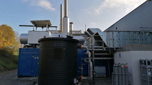 ETW Energietechnik'in SCR Katalizörlü CHP Üniteleri