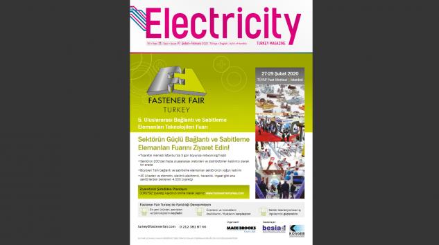 Electricity Turkey Dergisi Şubat 2020